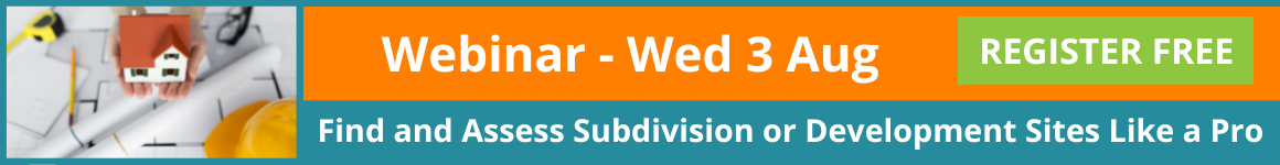 Subdivision Webinar How to Find and Assess Subdivision and Development Sites Like A Pro
