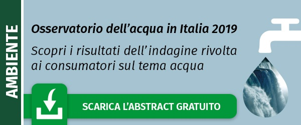Scarica l'abstract gratuito dell'Osservatorio sull'acqua in Italia