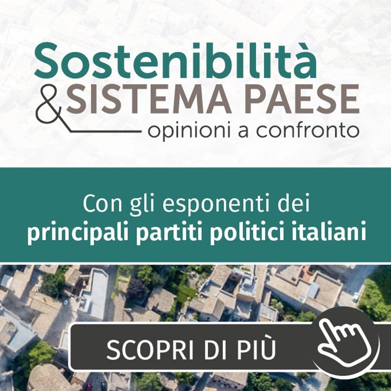 Sostenibilità e Sistema Paese 2021