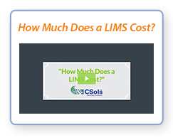 "Watch Video: ""How Much Does a LIMS Cost?"""