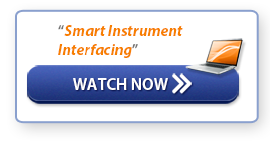 "Watch Webinar: ""Smart Instrument Interfacing"""