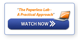 """Watch Now: """"The Paperless Lab - A Practical Approach"""""""