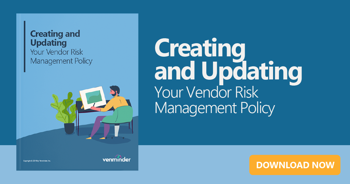 creating or updating vendor management policy