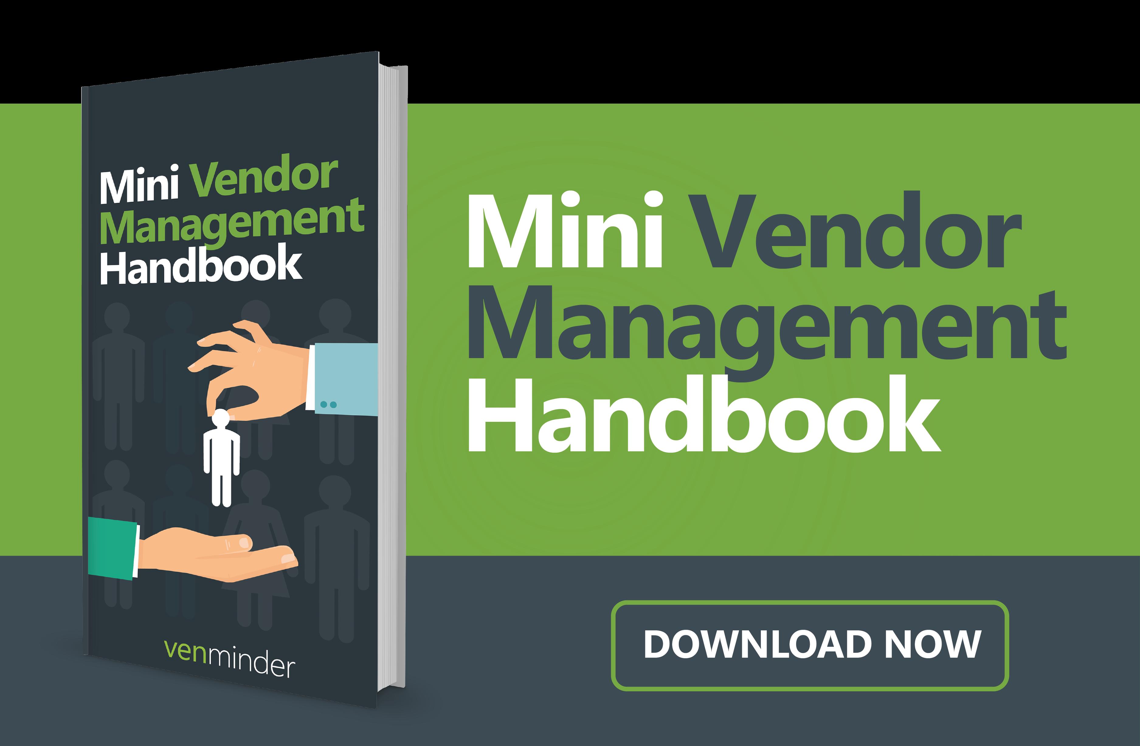 Mini Vendor Management Handbook