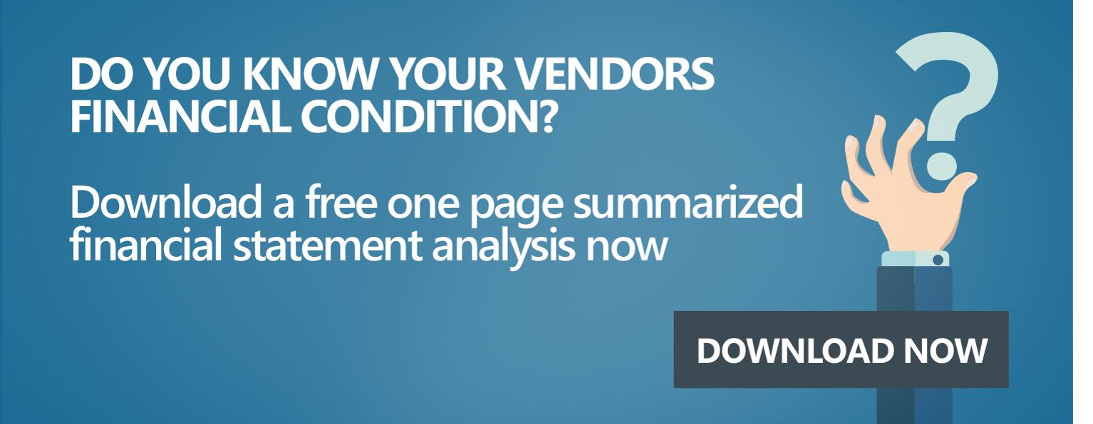 Venminder Financial Analysis Sample