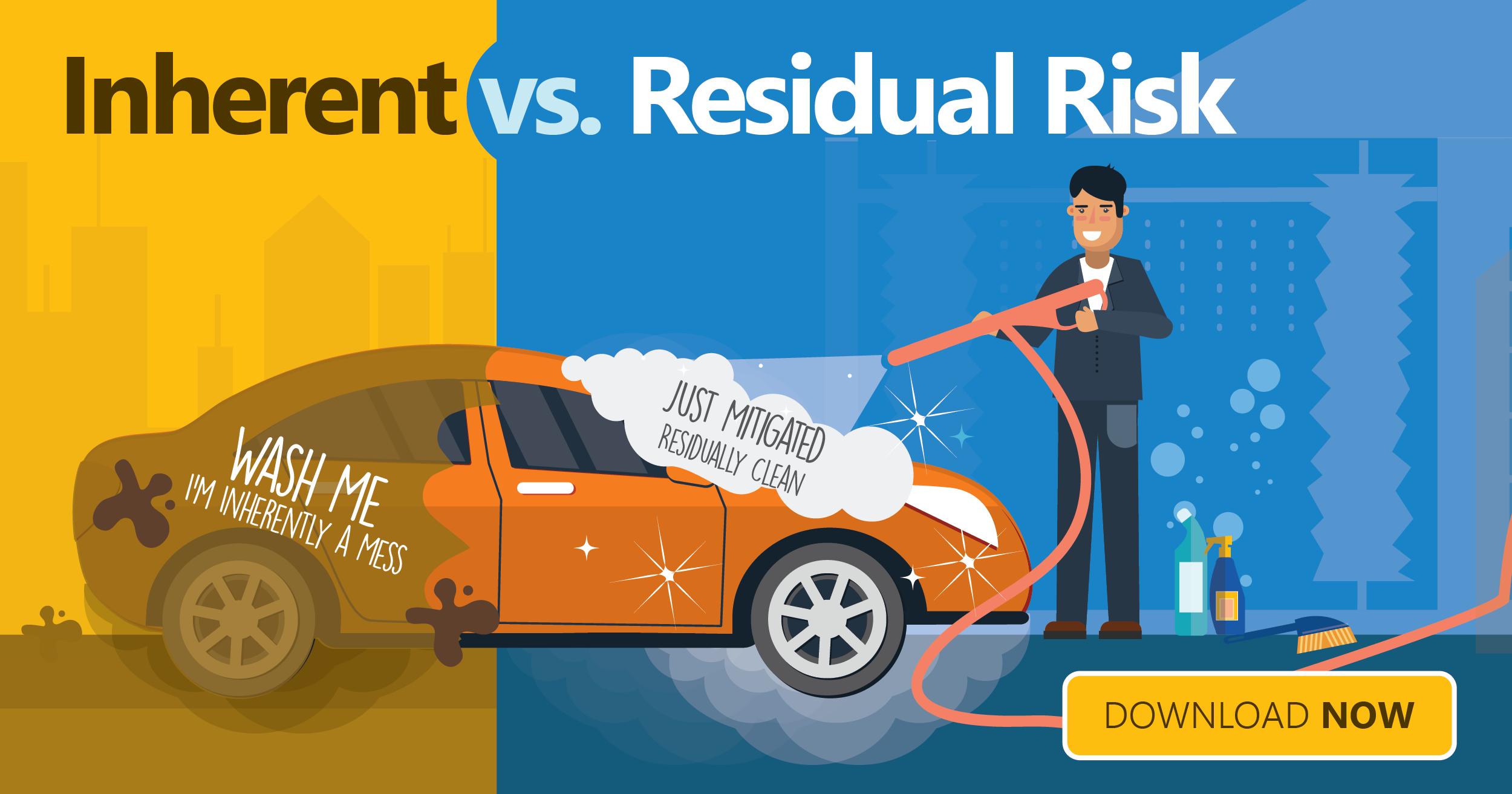 inherent vendor risk versus residual vendor risk