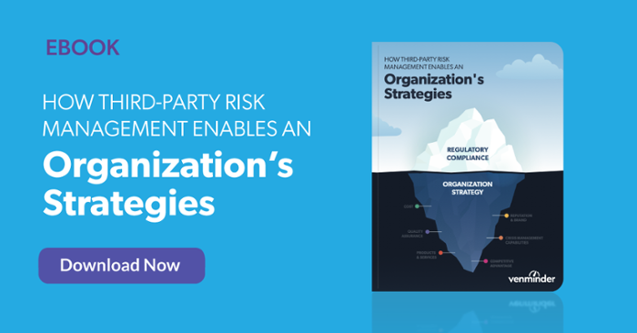 how TPRM enables an organization's strategies