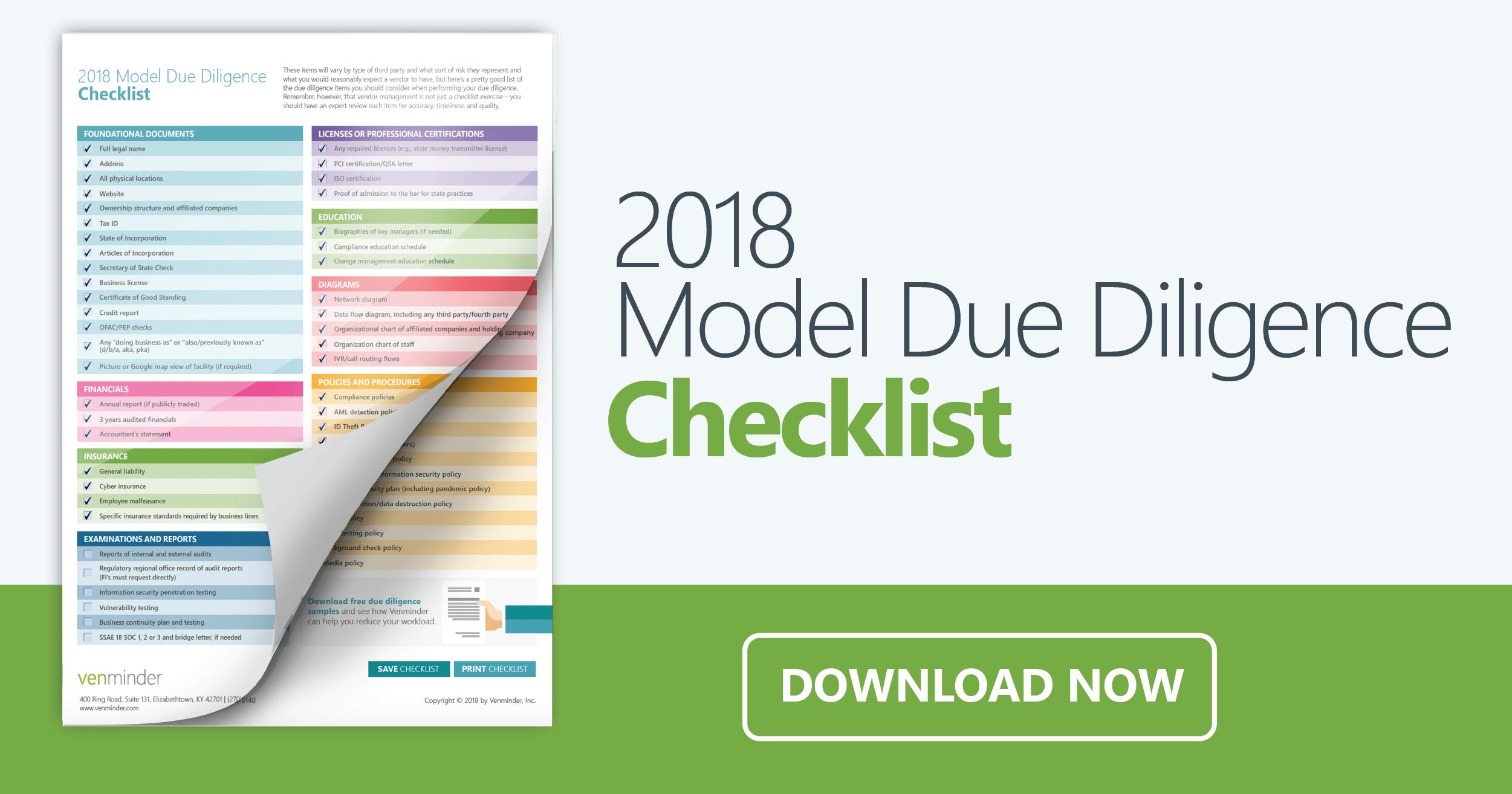 2019-due-diligence-checklist