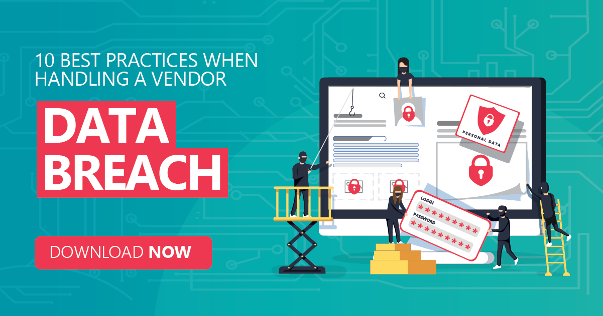 10 best practices when handling a vendor data breach