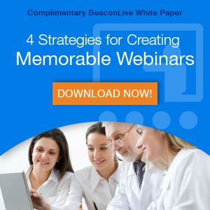 Free Download: 4 Strategies for Creating Memorable Webinars
