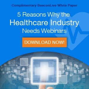 why the healthcare industry needs webinars
