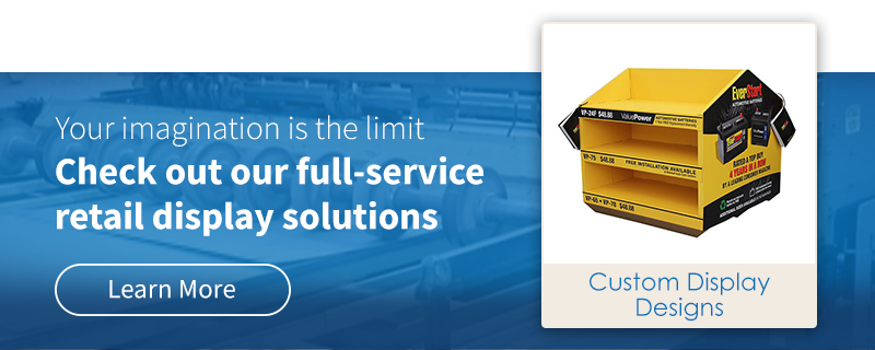 Check out our full-service retail display solutions