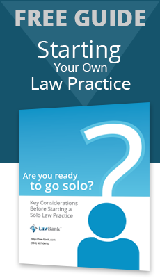 Starting your own Law Practice