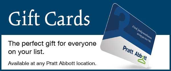 Pratt Abbott Gift Cards