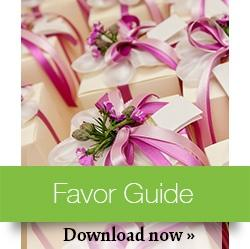 Wedding Favor Guide