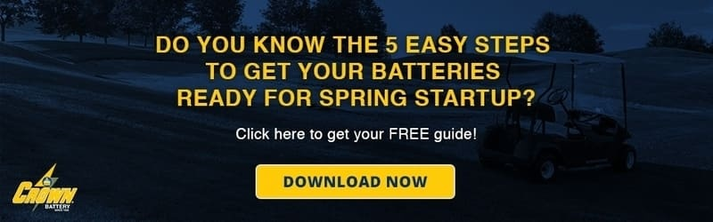 Crown Battery Spring Startup Guide