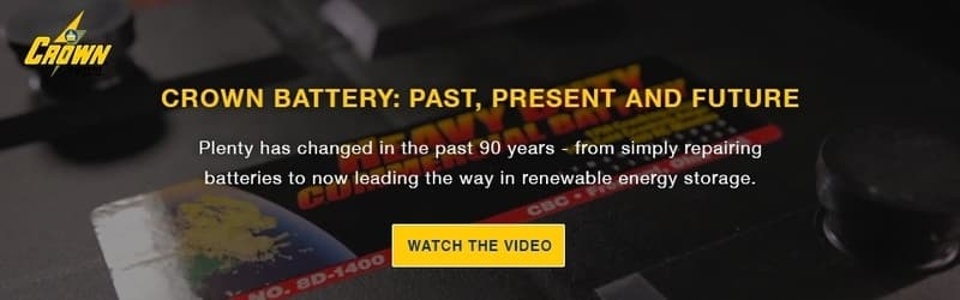Crown Battery: Past, Present and future