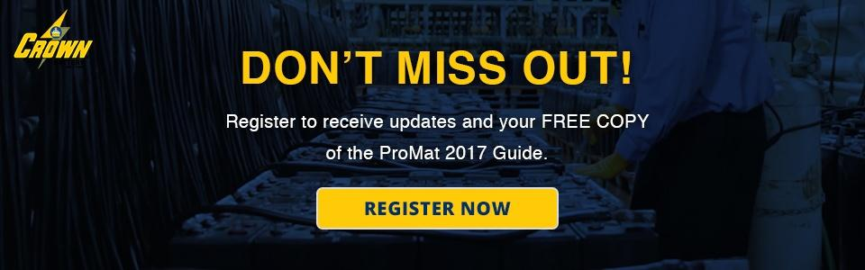 ProMat 2017 Guide Registration