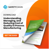 Understanding, Managing and Reducing Cost of Quality in Process Manufacturing