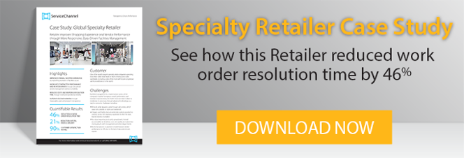 Speciality Retailer Case Study: See how this Retailer reduced work order resolution time by 46%