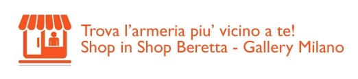 Beretta Armerie punti vendita Shop in Shop