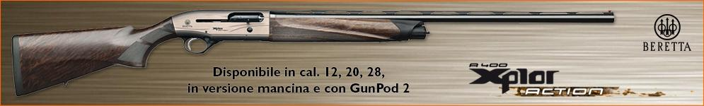 Fucile Beretta A400 Action calibro 20 28 12