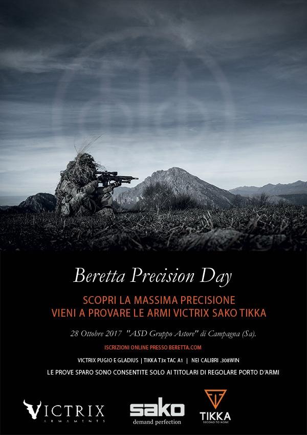 Beretta Precision Day 2017 - Victrix Sako Tikka