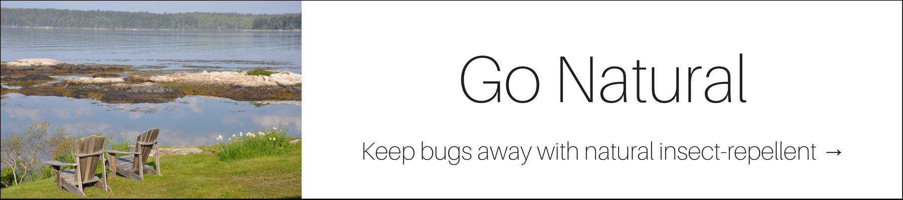 Keep bugs away the natural way