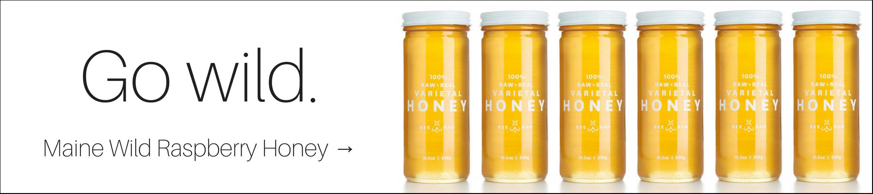 Stock up on Wild Raspberry Honey