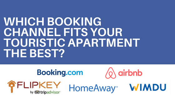 CTA - Which booking channel fits your touristic apartment the best?