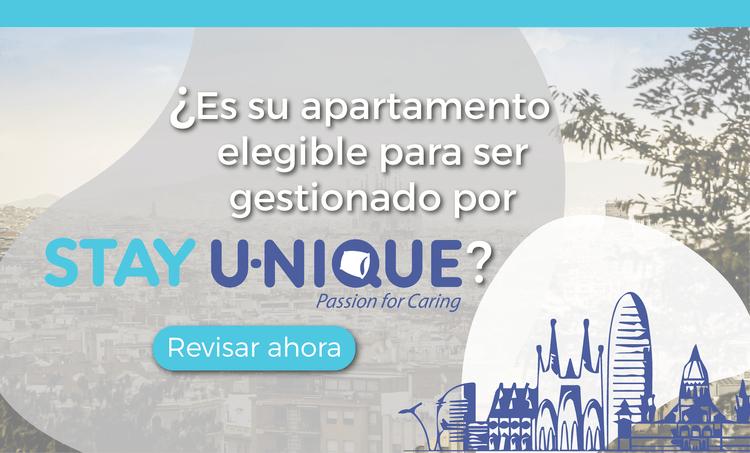 ¿Es su apartamento turístico elegible para ser gestionado por Stay U-nique?