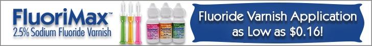 FluoriMax fluoride varnish