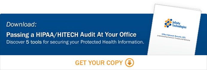 Download our free eBook: Passing a HIPAA/HITECH audit at your office