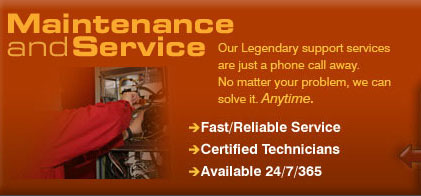 Maintanace and Service