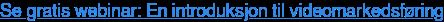 Segratis webinar:En introduksjon til videomarkedsføring