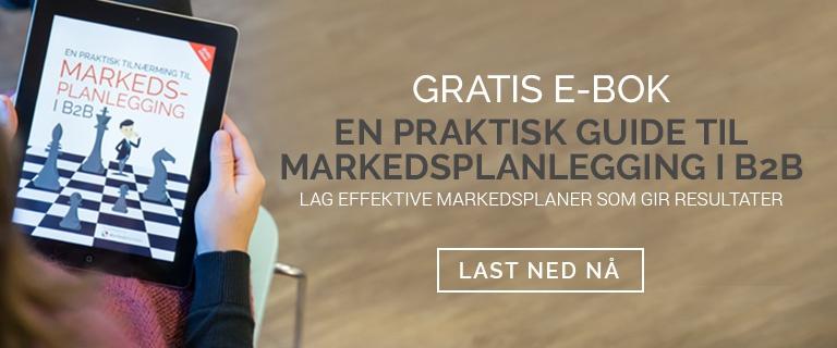 Gratis eBok - En praktisk Guide til Markedsplanlegginhg i b2b