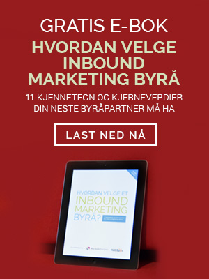 Gratis eBok - Hvodan Velge Inbound Marketing Byra