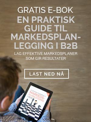 Gratis eBok - En praktisk guide til markedsplan-legging i b2b
