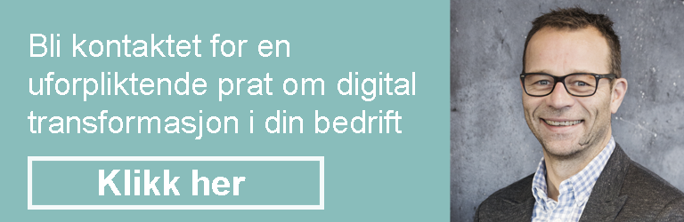 Bli kontaktet av Lars for en prat om digital transformasjon