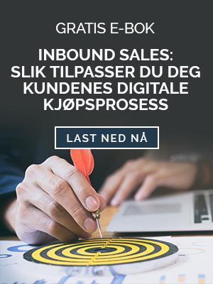 Gratis Ebok - Slik innfører du inbound sales i organisasjonen din