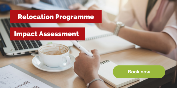 Book a relocation programme impact assessment