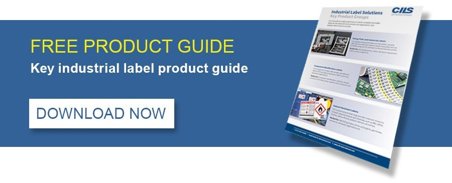 FREE PRODUCT GUIDE - Key industrial label product guide