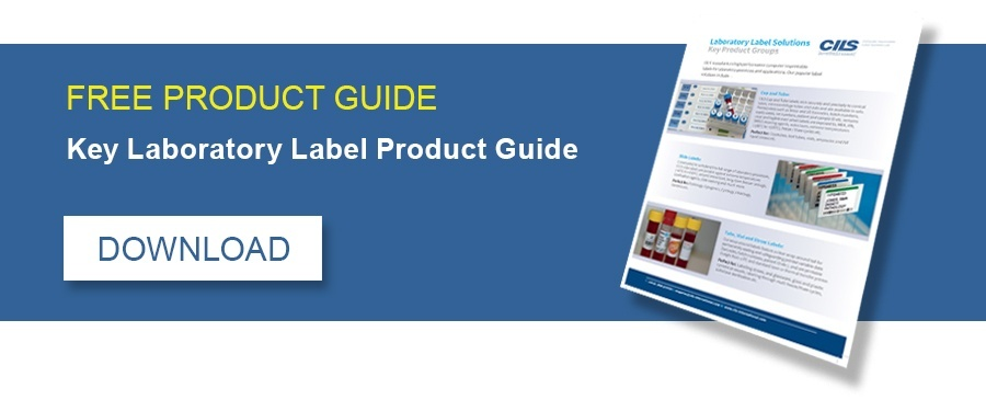 FREE PRODUCT GUIDE - Key Laboratory Label Product Guide