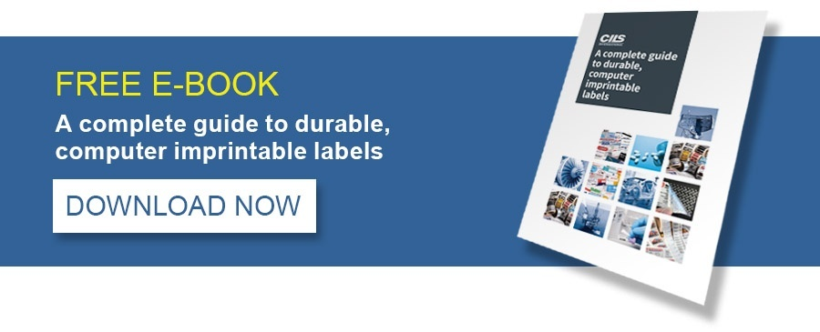 FREE E-BOOK: A complete guide to durable computer imprintable labels