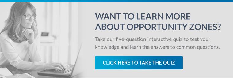 Opportunity Zones Quiz