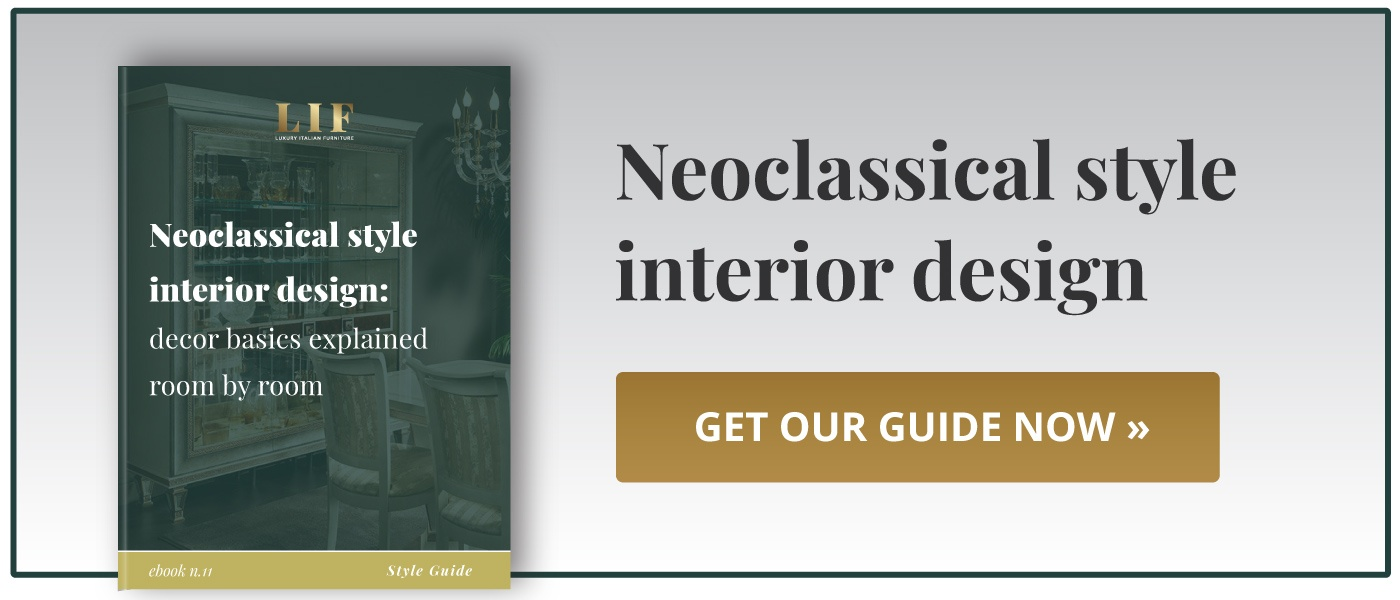 Download our neoclassical style interior design guide!