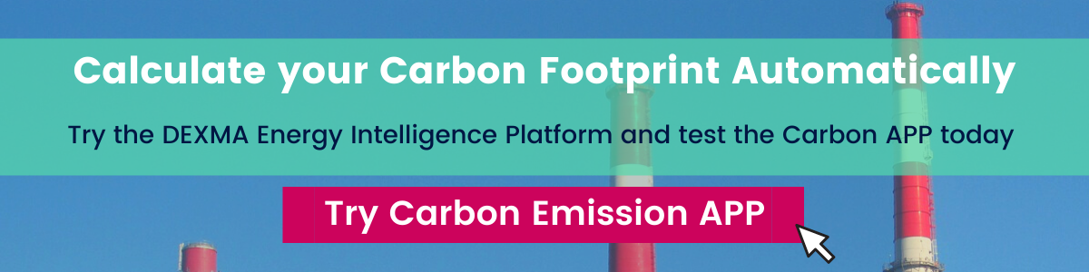 Calculate the carbon foot print of your energy consumption