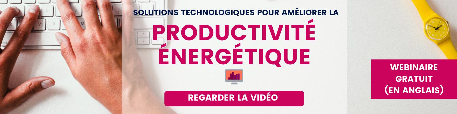 Webinaire Productivité Énergétique EP100 Climate Group