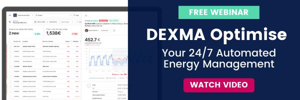 DEXMA Optimise Automated energy manager - Webinar