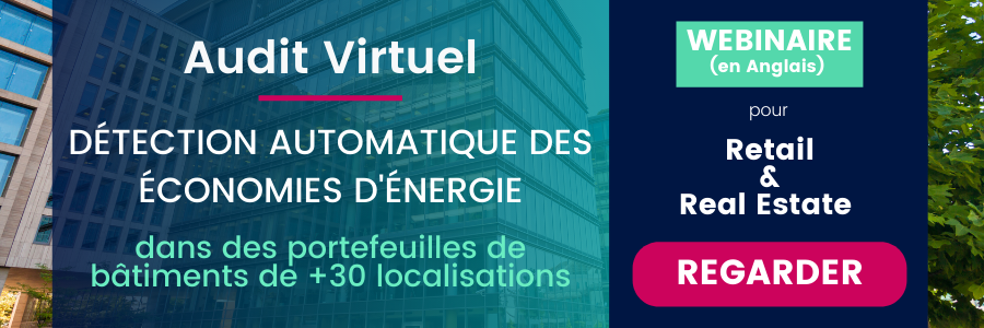 Audit énergétique virtuel dans le grande distribution et immobilier
